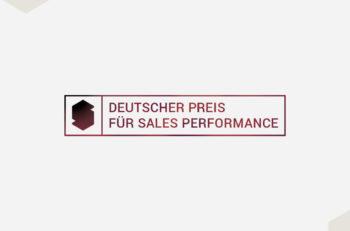 Deutscher Preis für Sales Performance - Vorschläge einreichen