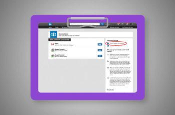 Kontaktdaten aus LinkedIn exportieren
