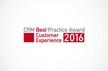 CRM Best Practice Award 2016