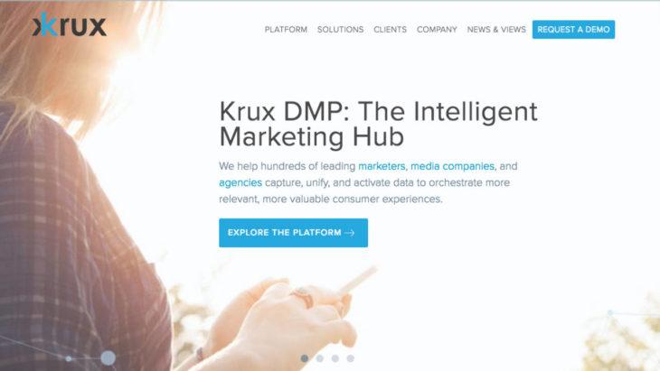 salesforce übernimmt marketing startup krux
