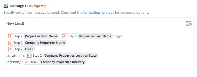 Zapier Lead Score Suchfilter einrichten
