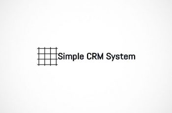 simple crm system logo