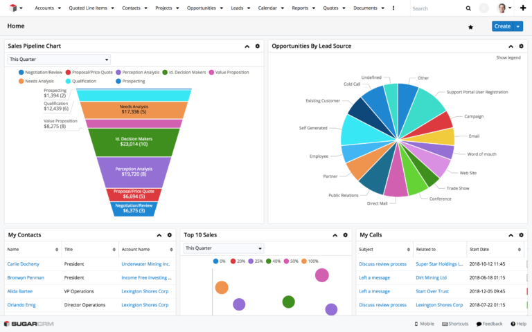 SugarCRM Winter '18 Release Highlights UX improvements