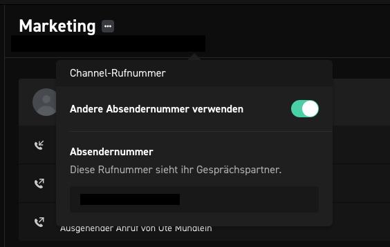 CLINQ_Absendernummer ändern